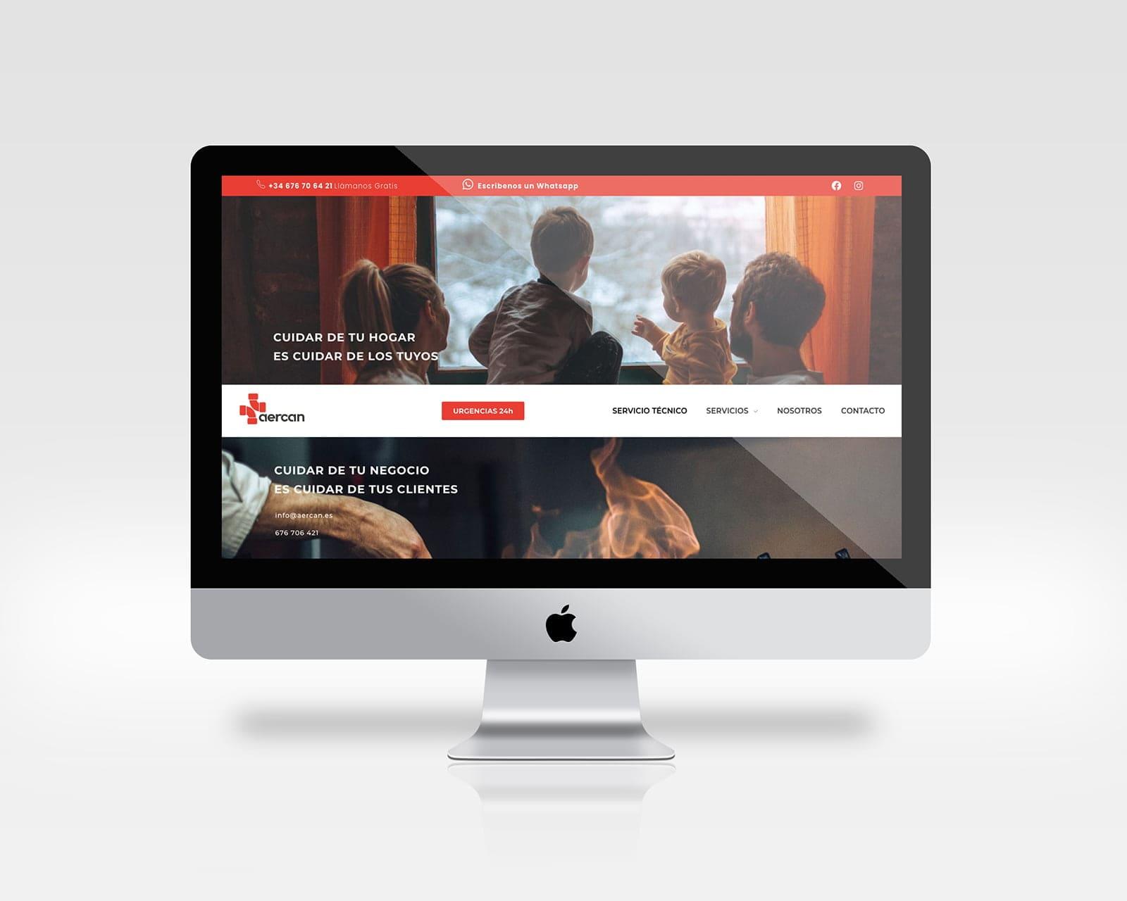 aercan diseño web cantabria