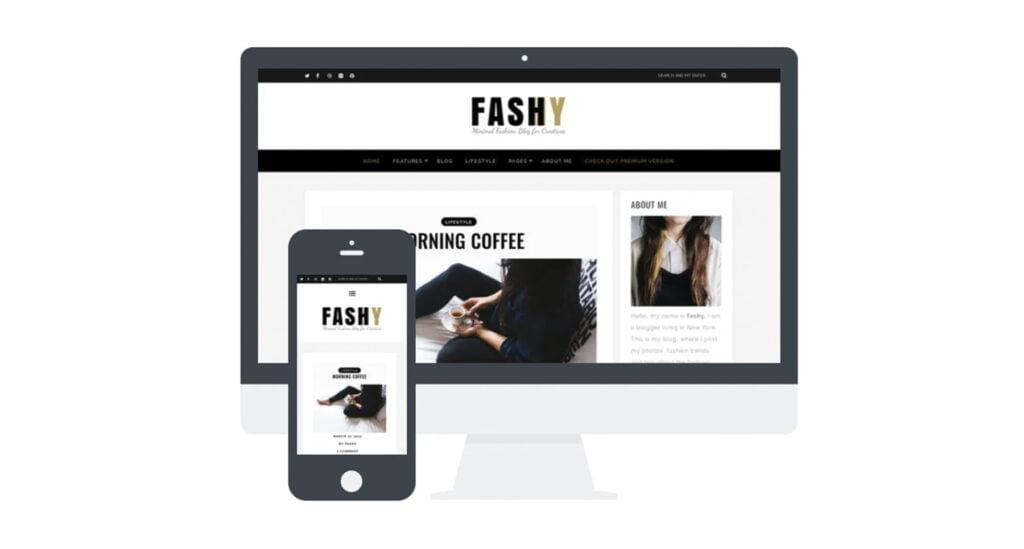 fashy theme diseno web responsive