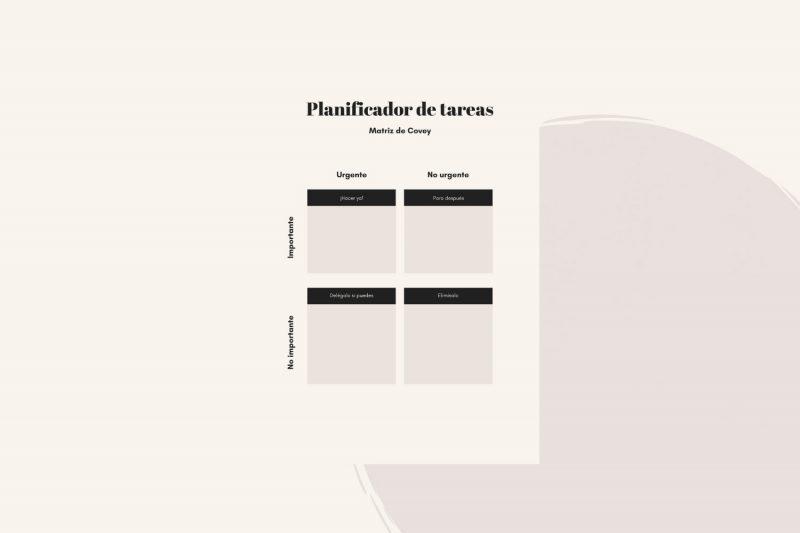 planificador matriz axolot agencia